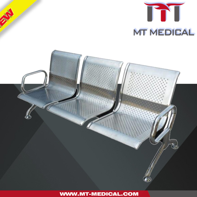 Metal stainless Steel waiting Room Furniture hospital Chairs for Patients cheap Waiting Room Chairs