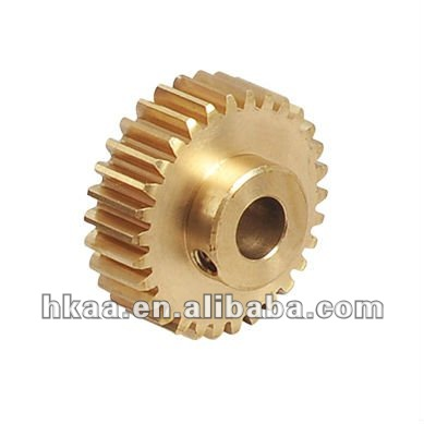 china motorcycle customized small brass timing gear manufacturer