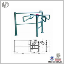 Genuine Quality Corrosion Protection Tripod Turnstile Access Control Gate With Esd Test