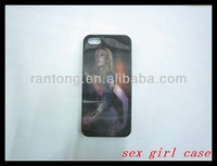 Wholesal sex girls pictures china products back cover case for iphone5/5s