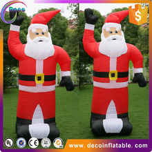 cheap giant inflatable Christmas decoration santa claus for sale