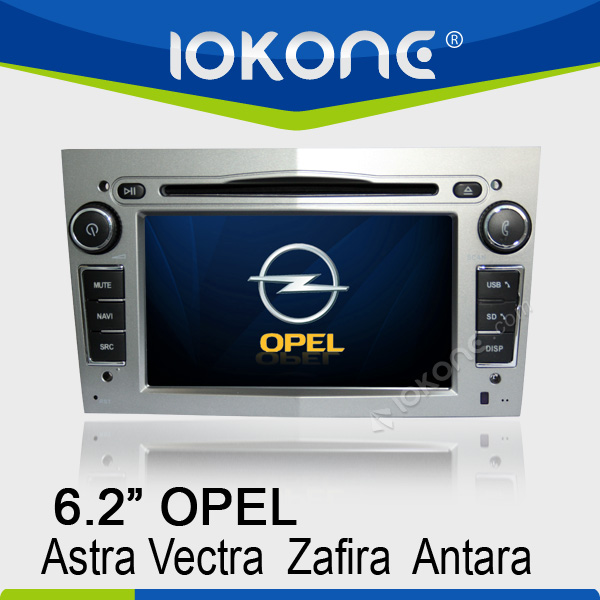 "6.2"" HD Touch screen opel astra j auto radio with GPS, ipod, usb, dvd, camera, dvb-t"