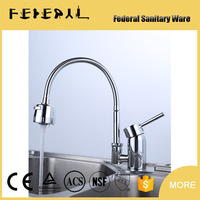 LB-E8044 Factory Direct Sales All Kinds ofy Basin Faucet Curved Zinc Handle Kitchen Faucet