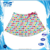 Beautiful girls swimming mini skirt of bowknot design