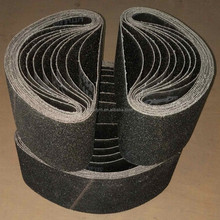 Overlap or button joint Silicon Carbide Abrasive Belt