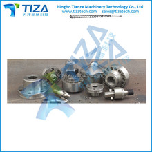 screw tip assembly for injection machine