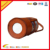 handmade genuine leather bicycle cup holder outside sport bottle holder with handle
