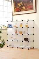 DIY Strong Plastic wardrobe shelves