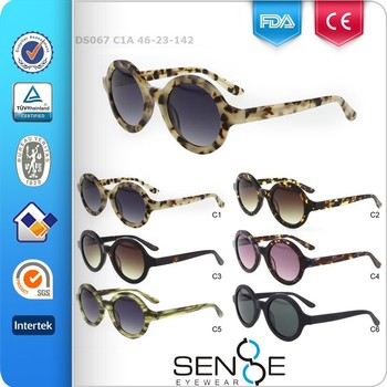 2016 Latest retro acetate sunglasses womens sunglasses