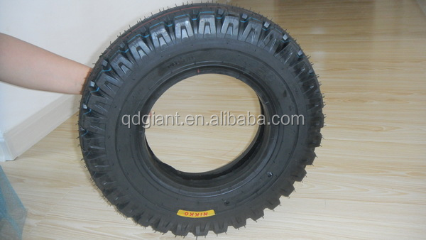 High quality motorcycle tubeless tyre 4.00-8