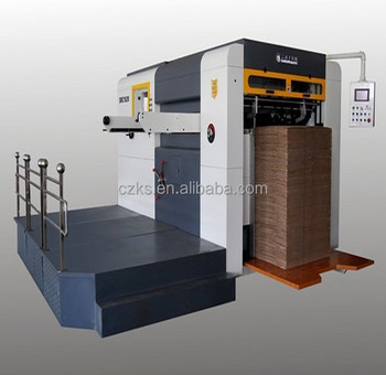High Quality High Speed Semi Automatic Flat Bed Die Cutting Machine