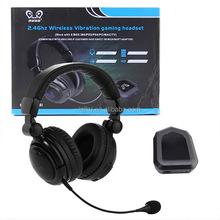 Best Selling Products 2.4GHz Wireless Fiber Optic Gaming Headphone for PC/ PS3/PS4/Xbox one/Xbox 360/TV