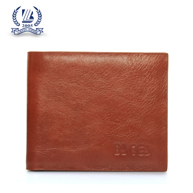 OEM factory leather wallet wholesale for men
