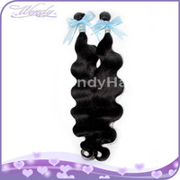 010310 unprocessed remy body wave natural black indian hair