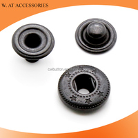 Fashion metal snap button for clothing