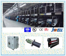 JWELL - plastic baler twine fibre making machine/pp hdpe rope fishing net filament yarn extruder line