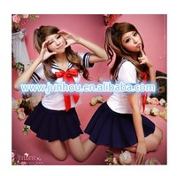 Sexy Japan School Girl cosplay Halloween costume fancy dress Full Outfit Uniform