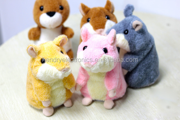 Christmas Gifts x hamster for children,Plush toy talking hamster