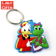 High Quality Cheap Custom Soft PVC 3D Keyring For Promotion