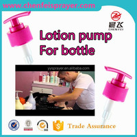 Custom plastic 24 410 28 410 hand soap dispenser pump bathroom liquid soap dispenser lotion pump in any color use in bottle