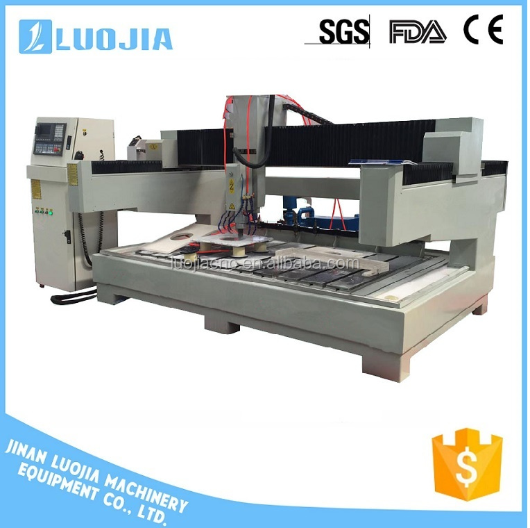 stone cnc router machine with atc /kitchen countertop granite engraving machine
