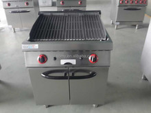 commercial gas stainless steel kitchen equipment used restaurant equipment lava rock barbecue grill BBQ grills