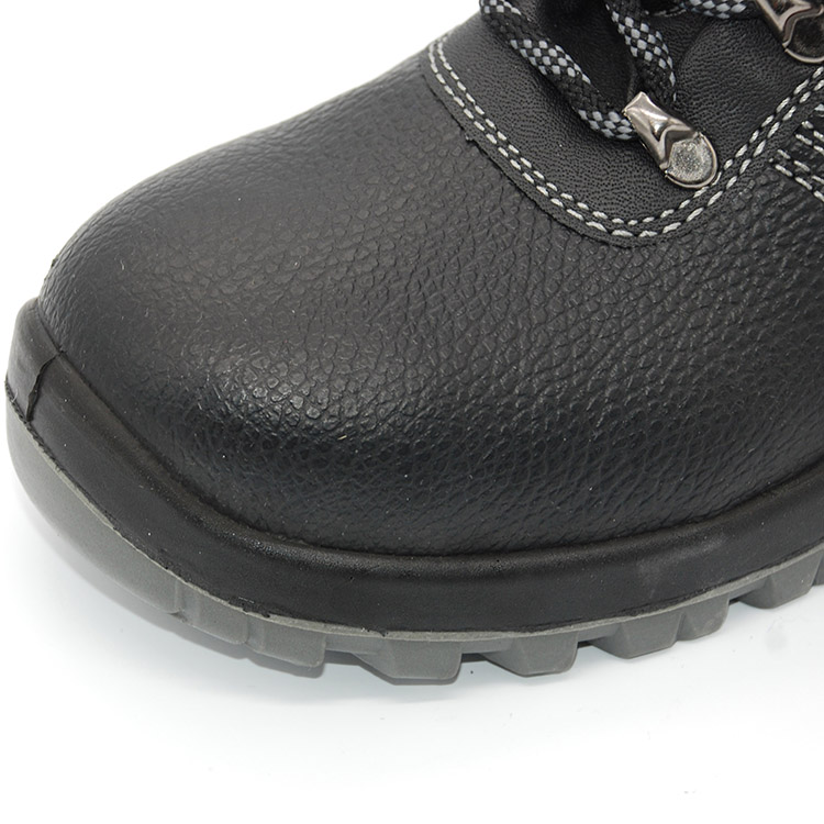 Promotional China Manufacturer Cheap Leather Safety Shoes Price