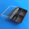 Disposable plastic design food tray for sushi food storage box