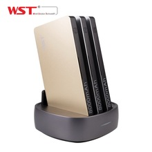 Multi cell phone restaurant quick charger built-in cable public mobile phone charging station