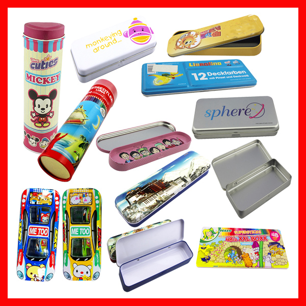 Funny school pencil case for girl