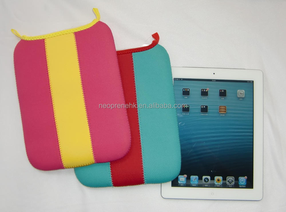 Pink & blue Lollipop for IPad Neoprene Tablet bag Tablet sleeve