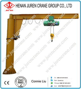 Better Price and Better Service BZD Model Pillar Mounted Jib Crane