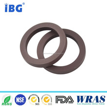 IBG manufacture flexible oil resistance FKM rubber square gasket