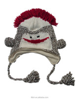 Personality fashion and funny winter cute animal beanies hat with earflap