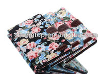 Flower Leather Stand Case For Samsung Galaxy Tab Pro 8.4 T320