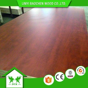 melamine paper laminated plywood