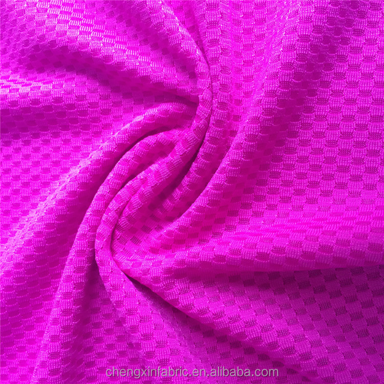 polyester spdandex mesh fabric for fitness clothing