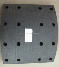 Semi-metallic Scania Truck Spare Parts/ WVA 19933 Brake Lining for Heavy Duty Truck by Factory Direct