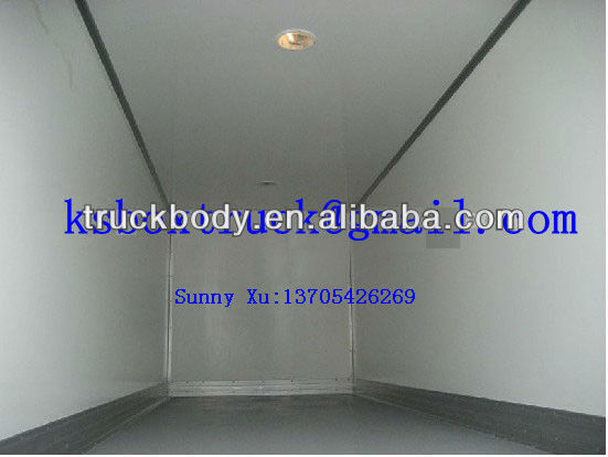 CKD refrigerated truck body/refrigerated truck box/van body