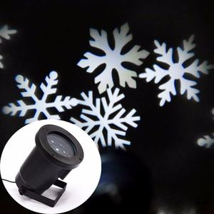 Manufacturer High Power Motion LED Snowflake Projector Outdoor
