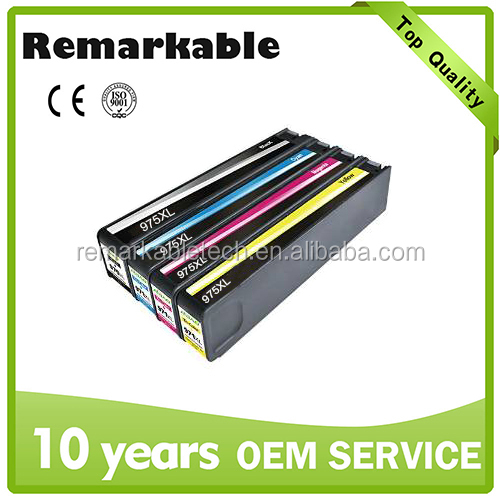 975 975XL compatible inkjet cartridge for HP