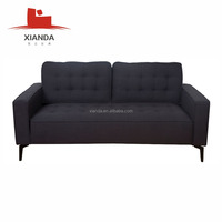 American Style Fabric Tufted Sofa Set