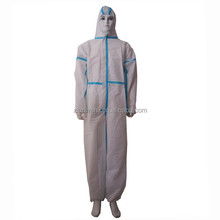 Type 5/6 CE Anti Ebola Polypropylene Disposable Heated Coveralls