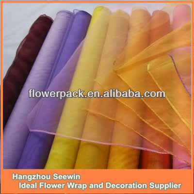 Products Decoration Organza Material