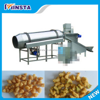 Snack Food Single-Drum Flavoring Machine|Drum Seasoning Machine|Potato Chips Coating and Seasoning