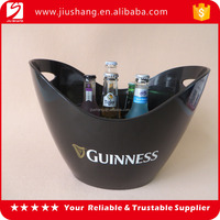New personalized plastic boat shape wine ice buckets for sale