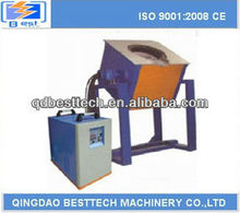 50kg small electric induction smelter, mini electric metall melting furnace