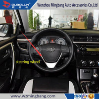 Car Accessories Chrome Steering Wheel Cover Highland For 2014 Toyota Corolla