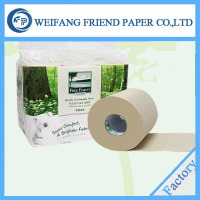 2 ply flower printed toilet paper