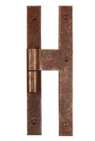 forged iron vertical hinge Made in Italy